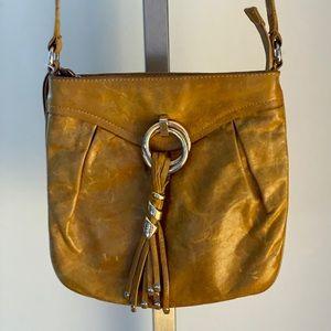 Francesco Biasia leather crossbody handbag